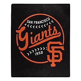 MLB San Francisco Giants Jersey Raschel Throw Blanket