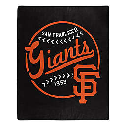 MLB San Francisco Giants Jersey Raschel Throw Blanket