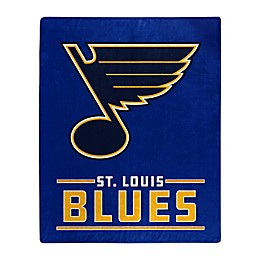 NHL St. Louis Blues Super-Plush Raschel Throw Blanket