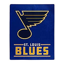 NHL St. Louis Blues Super-Plush Raschel Throw Blanket