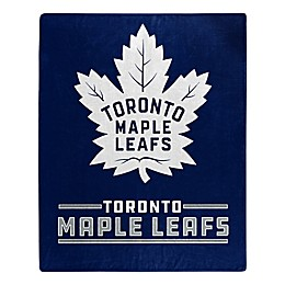 NHL Toronto Maple Leafs Super-Plush Raschel Throw Blanket