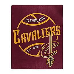 NBA Cleveland Cavaliers Super-Plush Raschel Throw Blanket