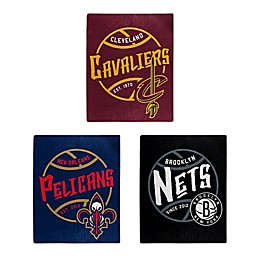 NBA Super-Plush Raschel Throw Blanket