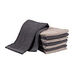 SALT™ Wave Bar Mop Dish Cloths (Set of 8)