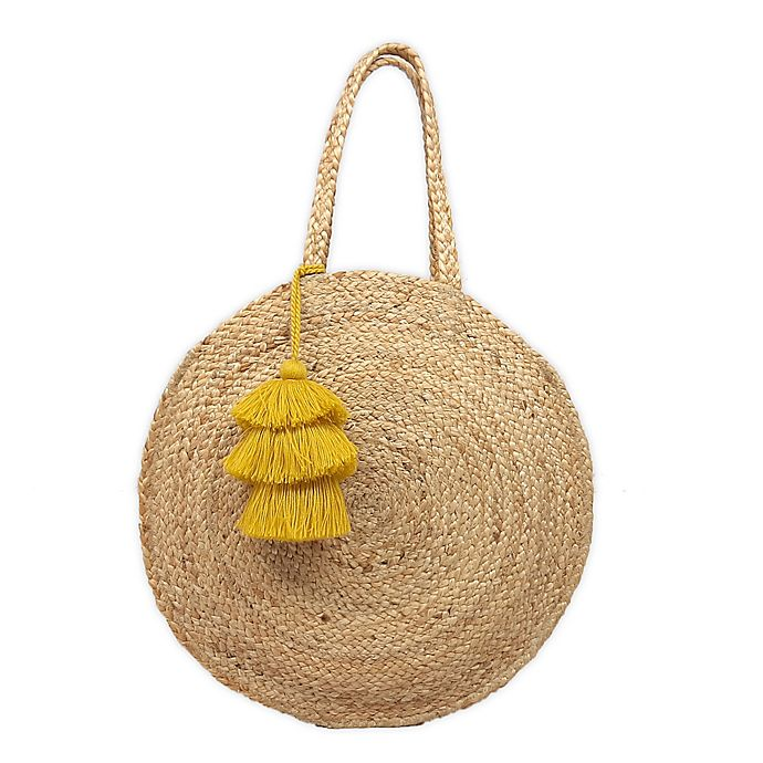 Alternate image 1 for Bee & Willow™ Home Ardsle Hand Braided Jute Tote in Natural