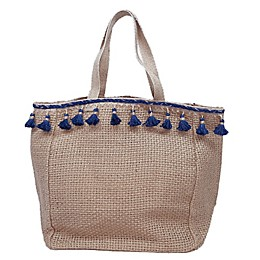 Bee & Willow™ Home Rya Hand Loomed Jute Tote in Natural