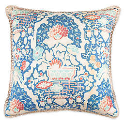Wamsutta® Paradise Garden Square Throw Pillow in Blue
