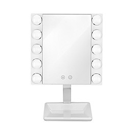 Conair® LED Lighted Vanity Makeup Mirror in White