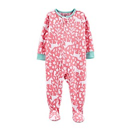carter's® 1-Piece Unicorn Fleece Footie Pajamas