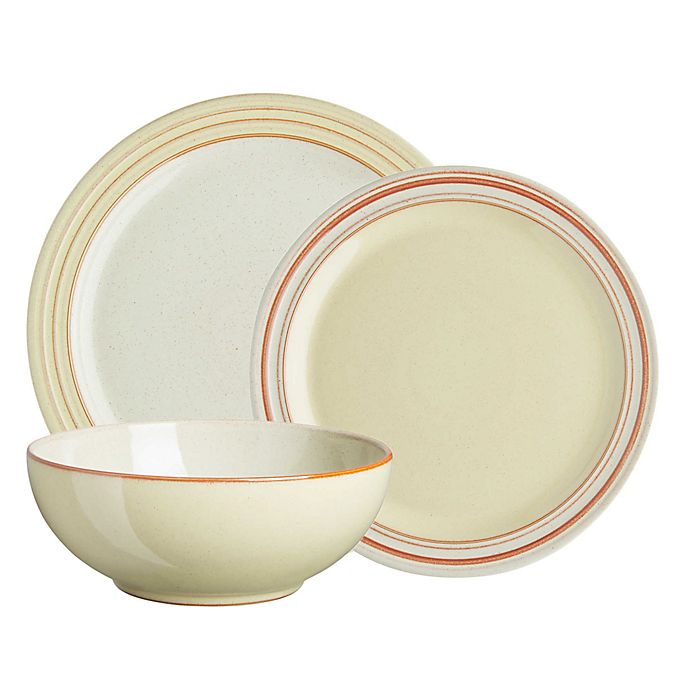 Alternate image 1 for Denby Heritage Veranda Dinnerware Collection in Yellow