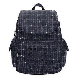 Kipling® Jax Tile Diaper Backpack in Black/Multi