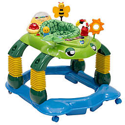 Delta Children Lil' Play Station 4-in-1 Activity Walker in Green