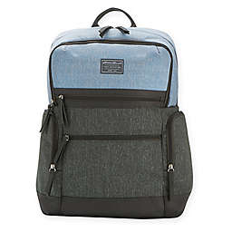 Eddie Bauer® East Sound Diaper Backpack in Grey/Blue
