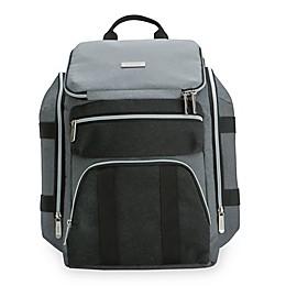 Baby Brezza® Diaper Backpack in Grey/Black
