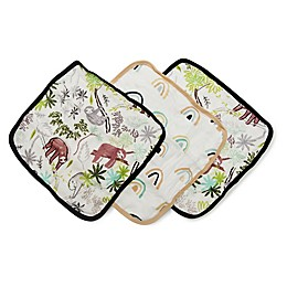 Loulou Lollipop 3-Pack Sloth Washcloths