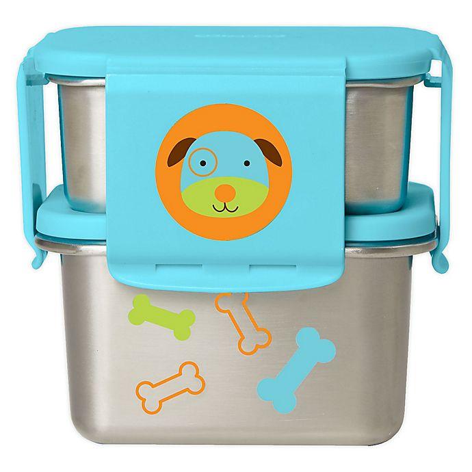 Alternate image 1 for SKIP*HOP® Zoo Dog Stainless Steel Lunch Kit
