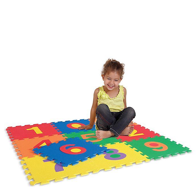 Alternate image 1 for Edushape® 10-Piece Number Tile Set