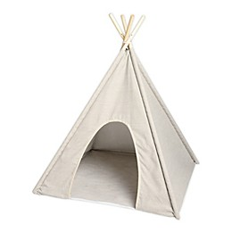 Precious Tails Canvas Ticking Stripe TeePee Pet Bed