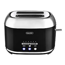 Kalorik Retro 2-Slice Toaster in Black