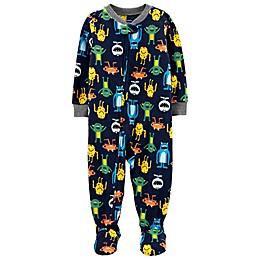 carter's® 1-Piece Monster Fleece Footie Pajamas