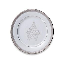 Noritake® Crestwood Platinum Holiday Accent Plates (Set of 4)