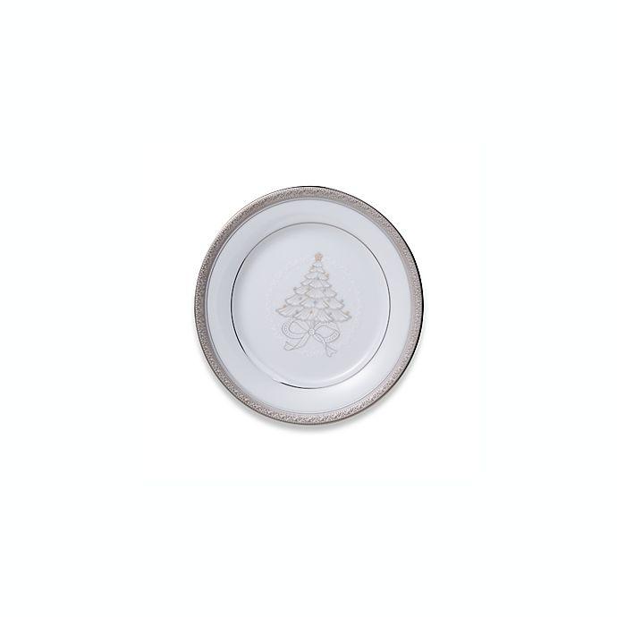 Alternate image 1 for Noritake® Crestwood Platinum Holiday Accent Plates (Set of 4)
