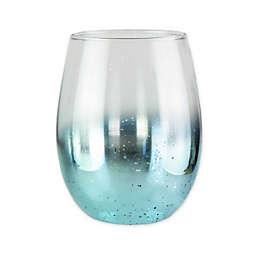 Fifth Avenue Crystal Ombré Stemless Goblets in Blue (Set of 4)