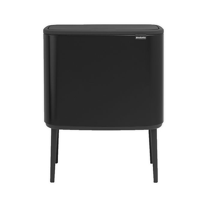 Alternate image 1 for Brabantia® Bo Touch Top 9-Gallon Trash Can