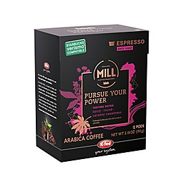 12-Count K-fee® Mill Pursue Your Power Dark Roast Espresso Capsules