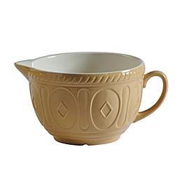 Mason Cash® 2.19 qt. Stoneware Batter Bowl in Cane