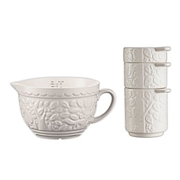 Mason Cash® In the Forest 4-Piece Stoneware Measuring Tools Set in Cream
