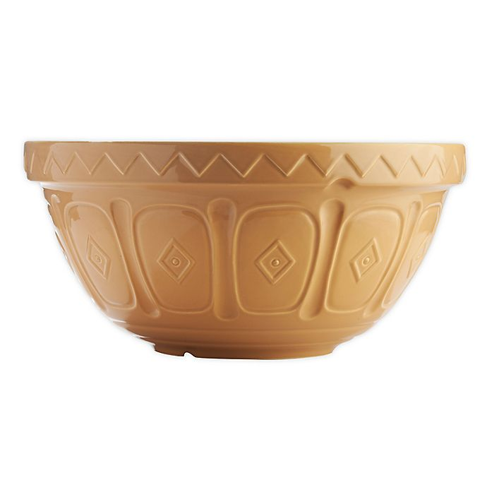 Alternate image 1 for Mason Cash® Earthenware Mixing Bowl in Cane