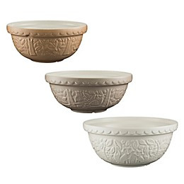 Mason Cash® In the Forest 3-Piece Earthenware Mixing Bowl Set