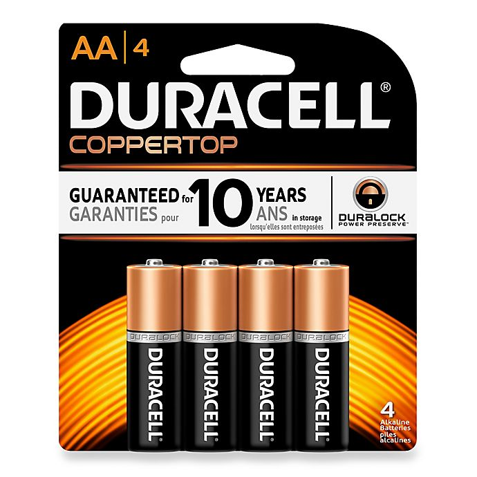 Alternate image 1 for Duracell AA Battery (4 Pack)