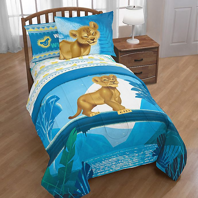 Alternate image 1 for Disney® The Lion King Twin/Full Comforter Set