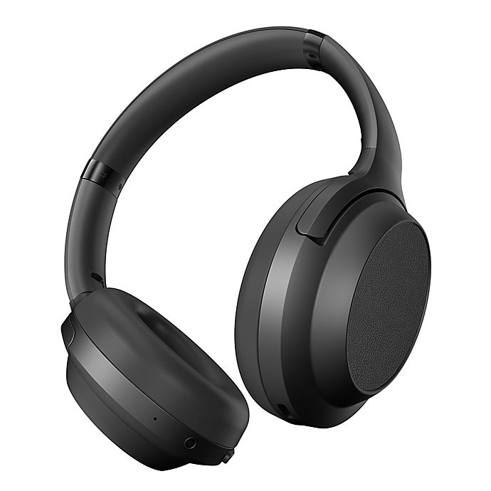 Alternate image 1 for Brookstone® Wireless Noise-Cancelling Headphones in Black