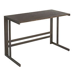 LumiSource® Roman Desk in Espresso
