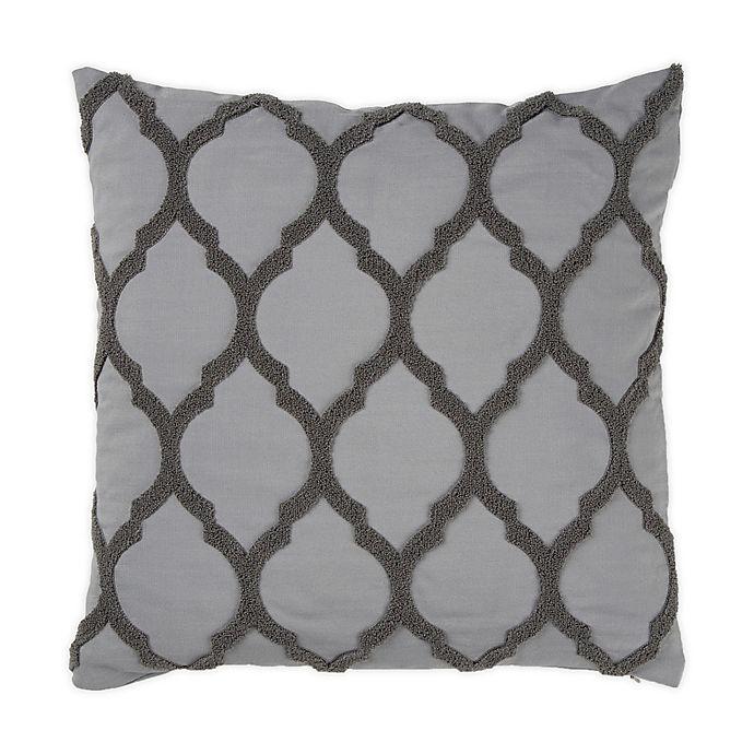Alternate image 1 for Wamsutta® Trellis Terry Loop Square Throw Pillow