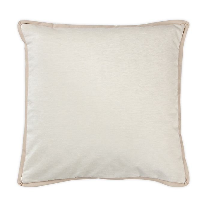 Alternate image 1 for Wamsutta® Panne Square Throw Pillow