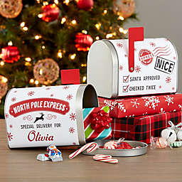 Special Delivery from Santa Personalized Christmas Metal Mailbox