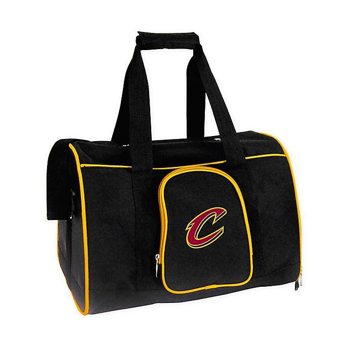 Alternate image 1 for NBA Cleveland Cavaliers 2-Door Premium Pet Carrier