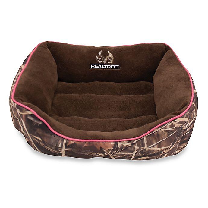 Alternate image 1 for Realtree® Max4 Small Camo Box Pet Bed