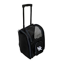 University of Kentucky 2-Door Rolling Pet Carrier