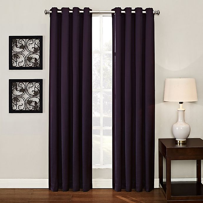 Alternate image 1 for Ashton Grommet Top Room Darkening Window Curtain Panel
