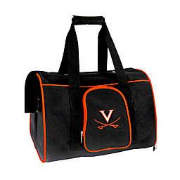 University of Virginia 2-Door Premium Pet Carrier in Silver