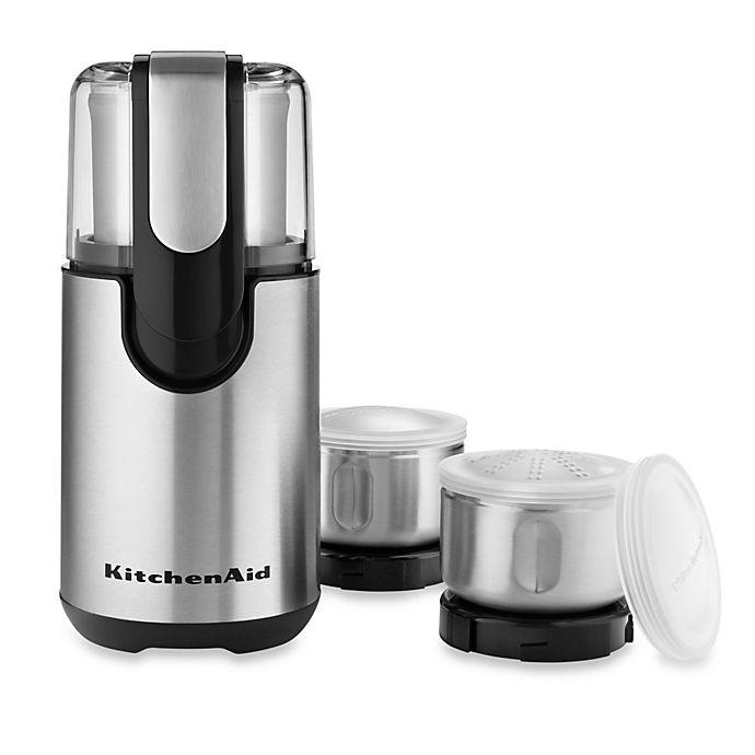 Alternate image 1 for KitchenAid® Blade Coffee Grinder and Spice Grinder Pack