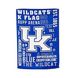 University of Kentucky Fan Favorite Embossed House Flag