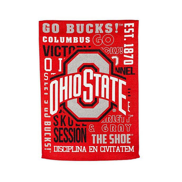 Alternate image 1 for Ohio State University Fan Favorite Embossed House Flag