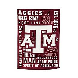Texas A&M University Fan Favorite Embossed House Flag