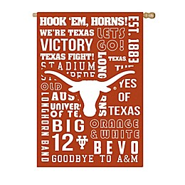 University of Texas Fan Favorite Embossed House Flag